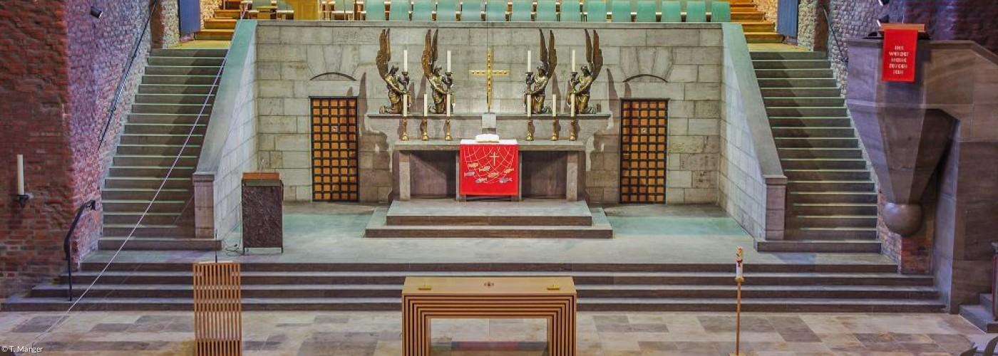 Gustav-Adolf-Gedächtniskirche Altarraum